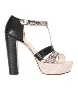 Michael Michael Kors   Snakeskin Detail Sandals 8