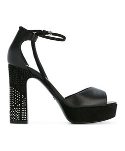 Dior | High Heeled Sandals With Tone Heel Embellishment Size