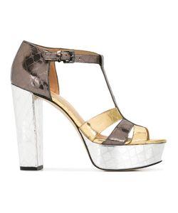 Michael Michael Kors   Platform Buckled Sandals 8