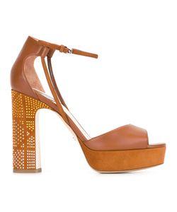 Dior | Ankle Strap Platform Sandals Size 38.5
