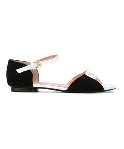 Boutique Moschino | Logo Print Sandals Size 39