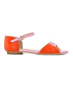 Boutique Moschino | Logo Print Sandals Size 38.5
