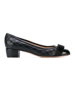 Salvatore Ferragamo | Quilted Vara Bow Pumps Leather/Nappa