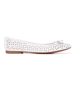 Baldinini   Perforated Ballerina Shoes