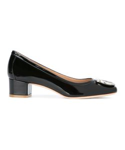 Salvatore Ferragamo | Gancio Pumps Leather/Patent Leather/Metal Other
