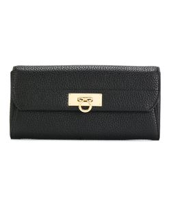 Salvatore Ferragamo | Gancio Bar Continental Wallet Calf