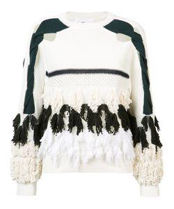 Toga   Tassel Cut Out Sweatshirt