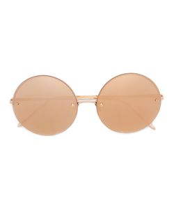 Linda Farrow | Round Frame Sunglasses Acetate/Metal