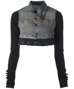 Rick Owens DRKSHDW | Cropped Denim Jacket Women