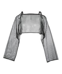 Demoo Parkchoonmoo | String Mesh Blouse 36 Polyester