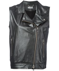 Desa | 1972 Sleeveless Biker Jacket Size 38