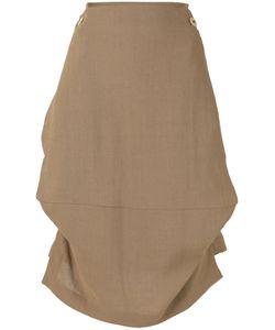Vivienne Westwood Red Label   Belted Asymmetric Skirt