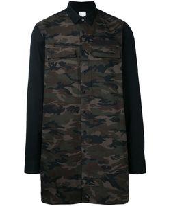 Cy Choi   Contrast Sleeve Shirt
