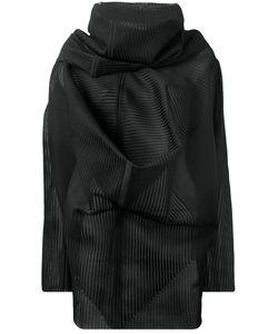 Rick Owens | Ribbed Knit Poncho
