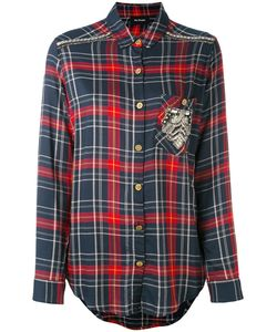 The Kooples   Embroidered Checked Shirt