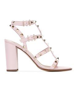 Valentino   Garavani Rockstud Sandals 38.5 Leather/Metal Other