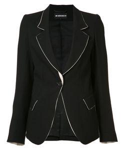 Ann Demeulemeester | One Button Blazer Size