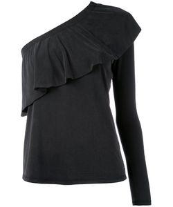 Just Female | Single Sleeve Ruffled Blouse