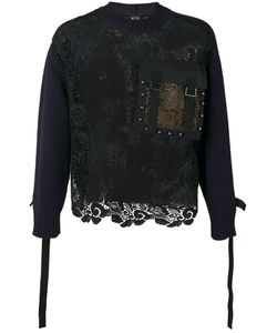 No21 | Lace Long-Sleeve Sweater L