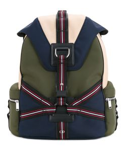 Dior Homme | Three-Tone Canvas Backpack With Straps