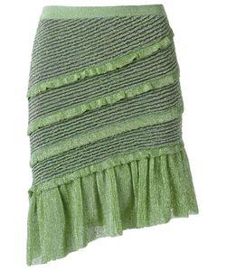 Gig | Ruffled Skirt Medium Polyamide/Polyester/Viscose