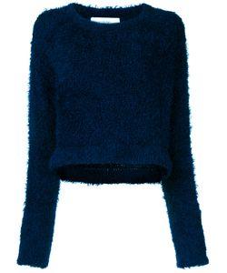 Le Ciel Bleu | Cropped Furry Top Women