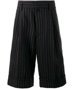 Dries Van Noten | Pinstripe Knee-Length Shorts Size 46