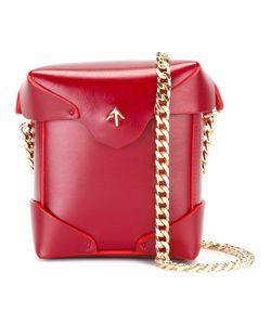 Manu Atelier   Detachable Chain Strap Clutch Brass/Calf Leather