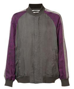 Robert Geller | Contrast Bomber Jacket Size 46