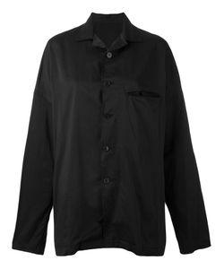 Yohji Yamamoto   Frayed Oversized Shirt