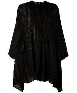 Uma Wang | Striped Collarless Tunic