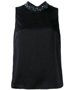 L'Autre Chose | Embellished Collar Blouse Size 42
