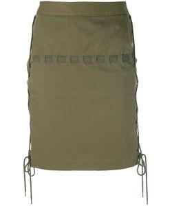 Chalayan | Corded Mini Skirt Size Small