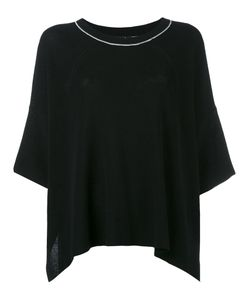 Y's   Cropped Sleeve Sweater Size