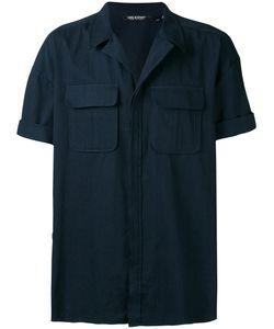 Neil Barrett | Open Collar Short Sleeve Shirt