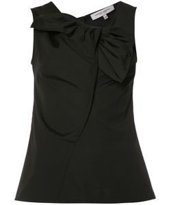 Carolina Herrera | Sleeveless Bow Neck Blouse Size 6