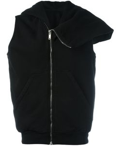 Rick Owens DRKSHDW | Zip Up Asymmetric Hoodie Medium