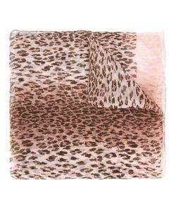 Salvatore Ferragamo | Leopard Print Scarf Silk