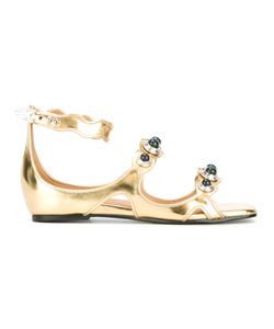 Toga | Orb Embellished Sandals Size 40