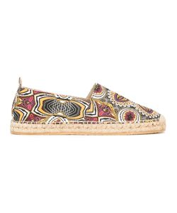 Etro | African Print Espadrilles 45 Canvas/Leather/Rubber