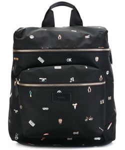 Paul Smith | Cufflink Print Backpack
