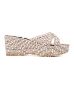 Jimmy Choo | Prima Sandals Size 37.5