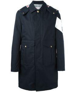 Moncler Gamme Bleu | Oversized Flap Pockets Coat 4
