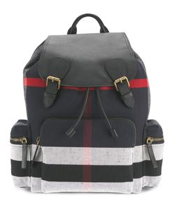 Burberry | Stripe Panel Backpack One