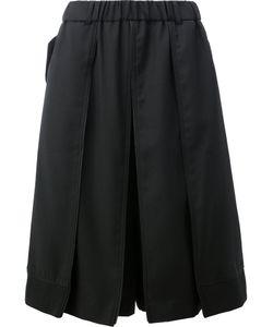 Moohong | Pleat Detail Shorts Size 48