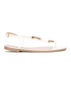 Sergio Rossi   Embellished Sandals Size 38
