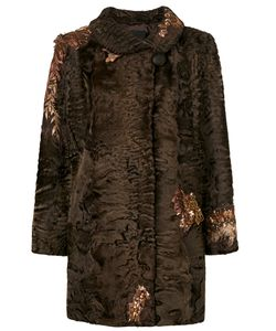 Liska | Sequin Embroidery Coat Women