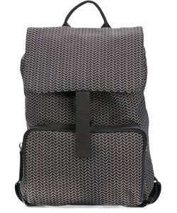 Zanellato | Printed Flap Backpack