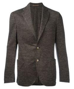 Eleventy | Texture Blazer Size 52 Cotton/Linen/Flax/Acetate/Polybutylene Terephthalate Pbt