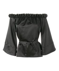 Jour/Né | Ruffle-Trimmed Off Shoulder Blouse 42 Polyester/Spandex/Elastane